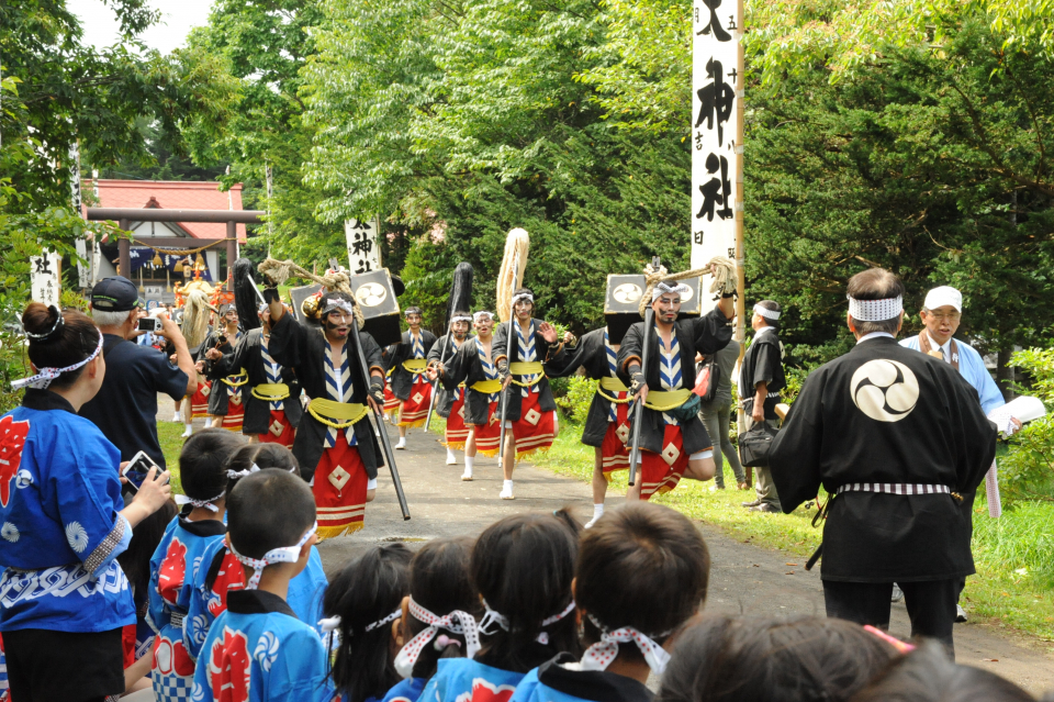 Niseko Kanta Shrine festival