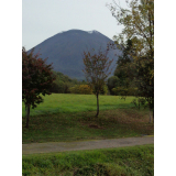 Mountain peak of Mt. Yotei