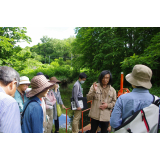 "Plant and industrial heritage tour ""Plant observation around Arishima Memorial and Walking Arishima irrigation groove"""
